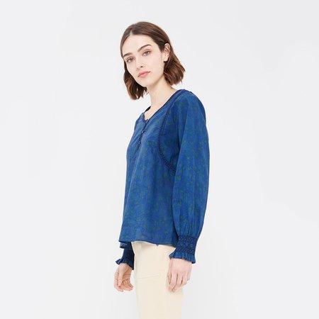 Acote Straight cut Long sleeved Blouse - Safi