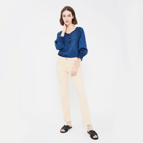 Acote Straight cut Long sleeved Blouse - Safi