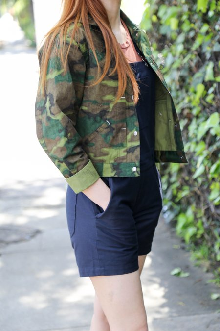 W'Menswear Striker Jacket - Jungle Camo