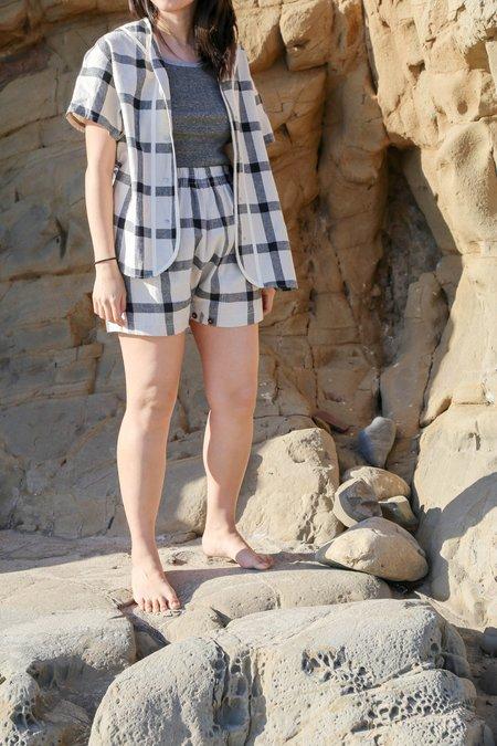 W'Menswear Mess Shorts - Check