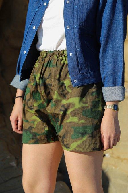 W'Menswear Mess Shorts - Jungle Camo