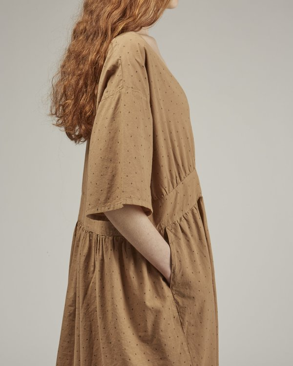 Revisited Matters Mariane dress - Clay print