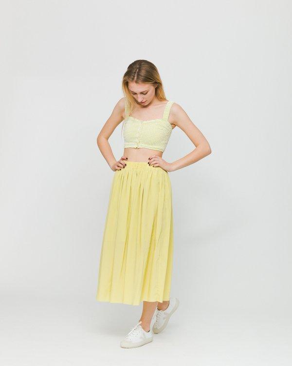 Samsoe Samsoe Nadia Skirt - Endive