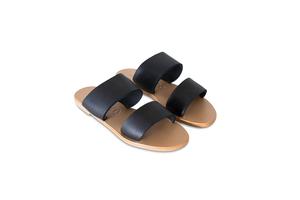 St. Agni Keiko Double Strap Slides