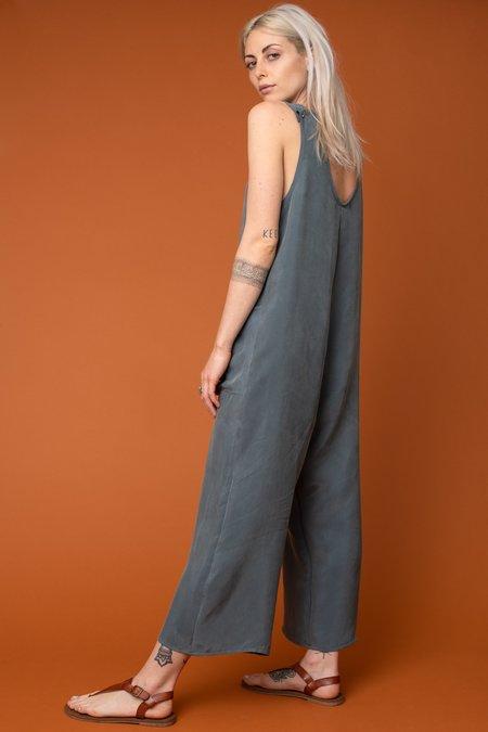 Altar Houseline Cupro Pocket Jumpsuit