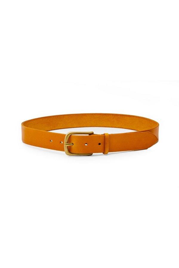 """Unisex MAXIMUM HENRY Standard Belt (1.25"""" Wide) - Light Brown"""