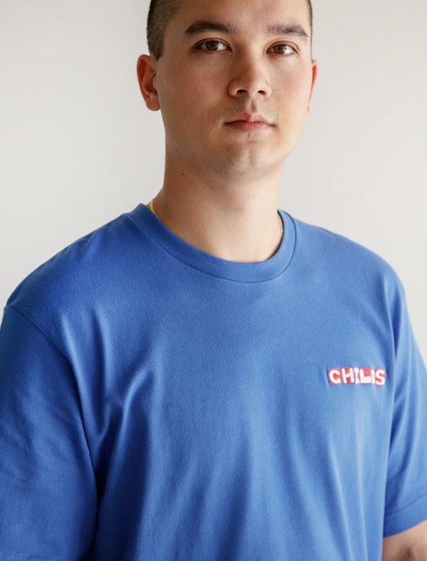 Childs Printed Clean T - Amparo Blue