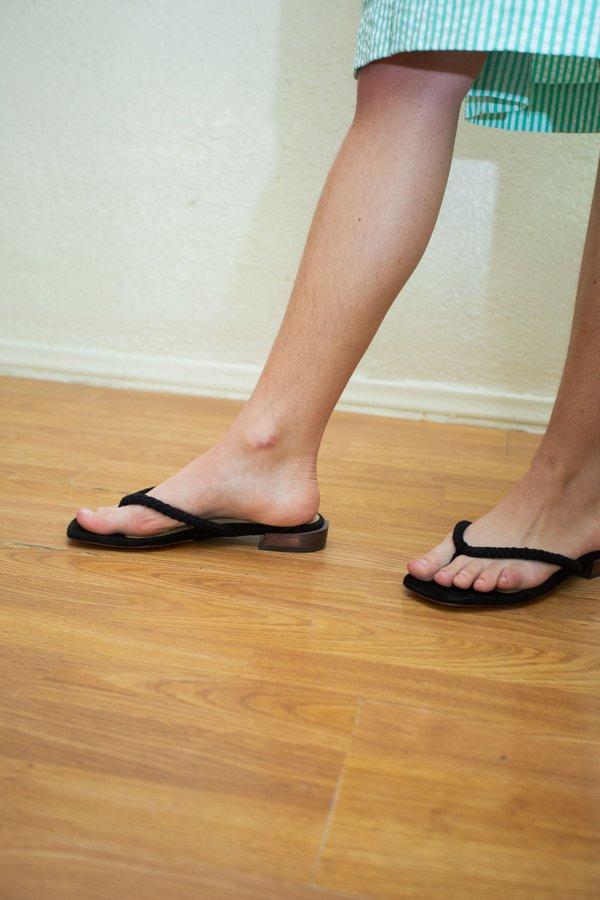 Mari Giudicelli Tara Sandal - Black