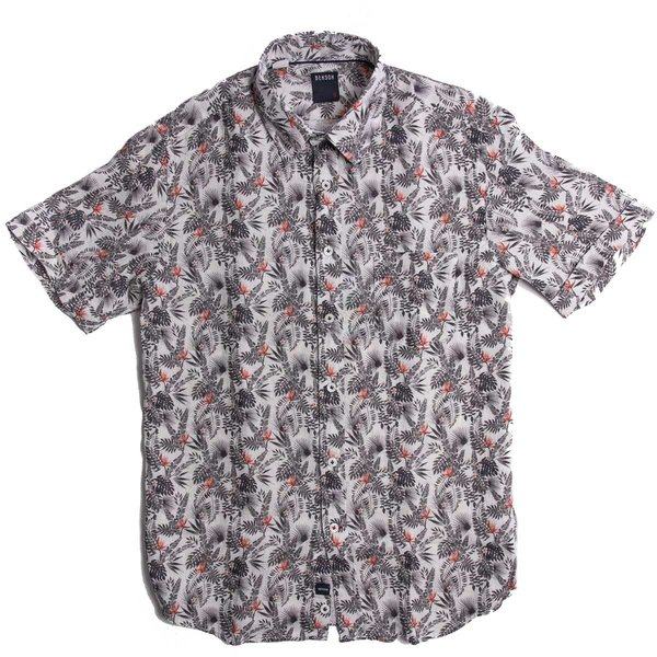 Benson Short Sleeve shirt - Leaves