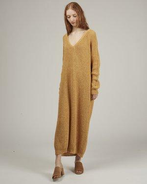 Baserange Danube cotton sweater dress