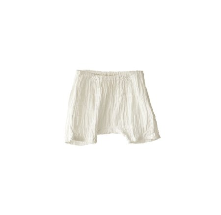 KIDS Boy+Girl Poppy Baby Bloomer - WHITE