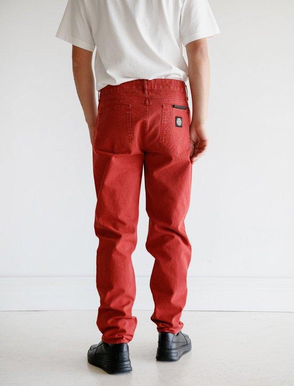 Stone Island 5 Pocket Pants Brick - Red