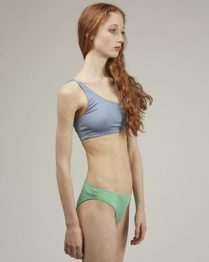 Baserange Bell swim pants - Green