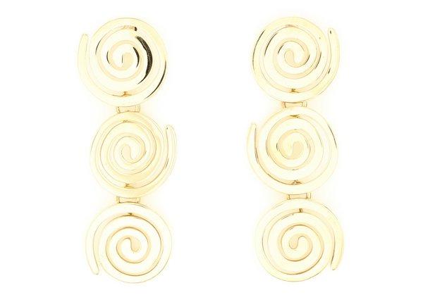 Modern Weaving Stacked Petite Coils - Brass
