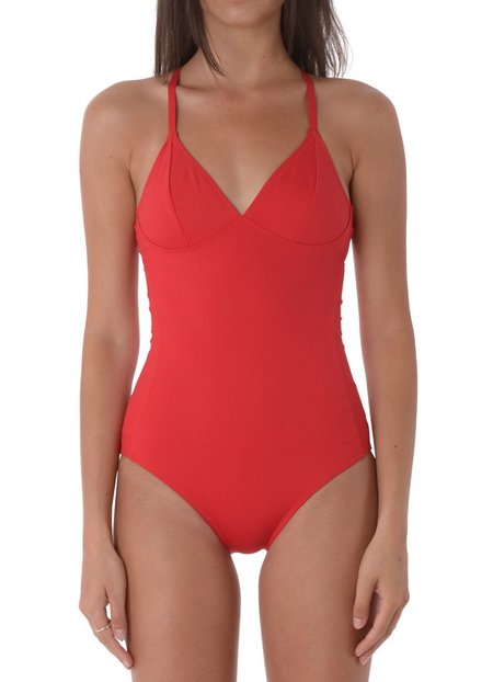 Fortnight TIE BACK ONE PIECE - Scarlet