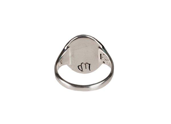 Talon VIRGO SIGNET RING - Silver