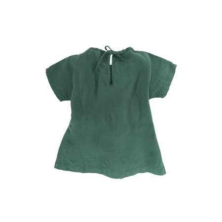 KIDS Omibia Bella Dress - Bottle Green