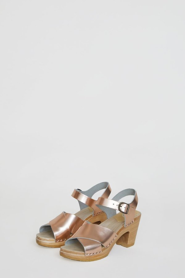 No.6 Coco Cross Front Sandal High Heel