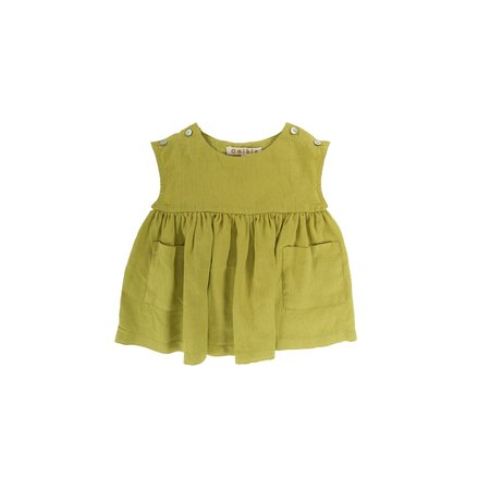 Kids Omibia Glory Baby Dress - Lime