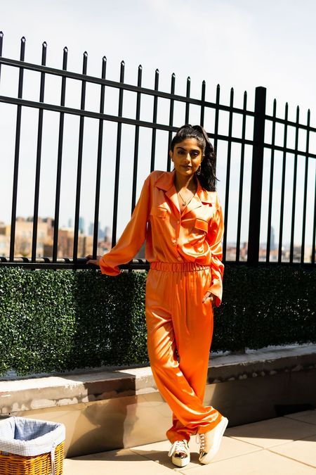 Montserrat New York The Silk Pant - Apricot