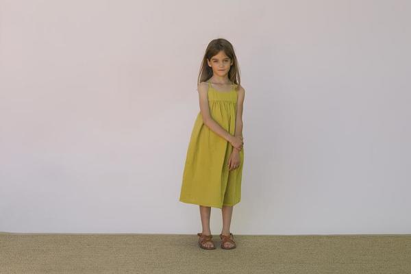 KIDS Omibia Violeta Dress - Lime