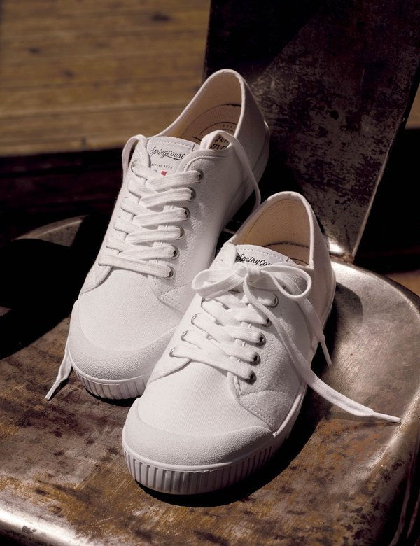 Spring Court G2 Low Trainers (Canvas