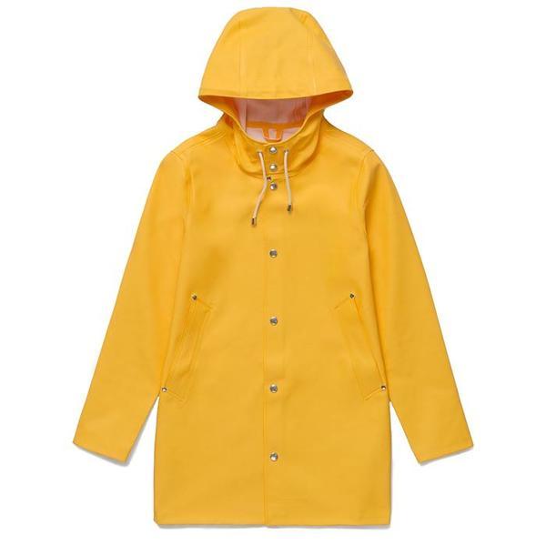 UNISEX Stutterheim Classic Raincoat - Yellow