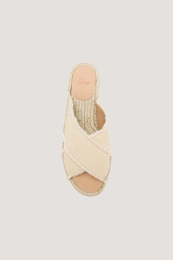 Castaner Palmera Espadrille Sandals - Ivory