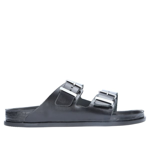 865c51819695 Birkenstock Arizona Premium Leather Sandal - BLACK