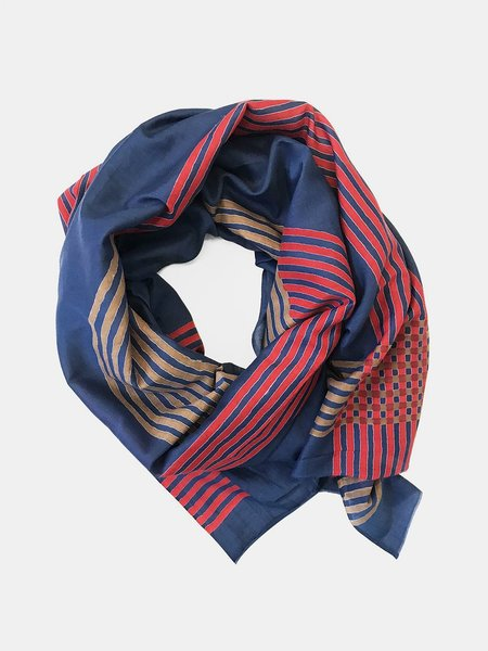 block shop gemini scarf - navy