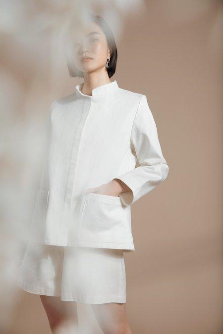 Par en Par The Diplomat Jacket - White