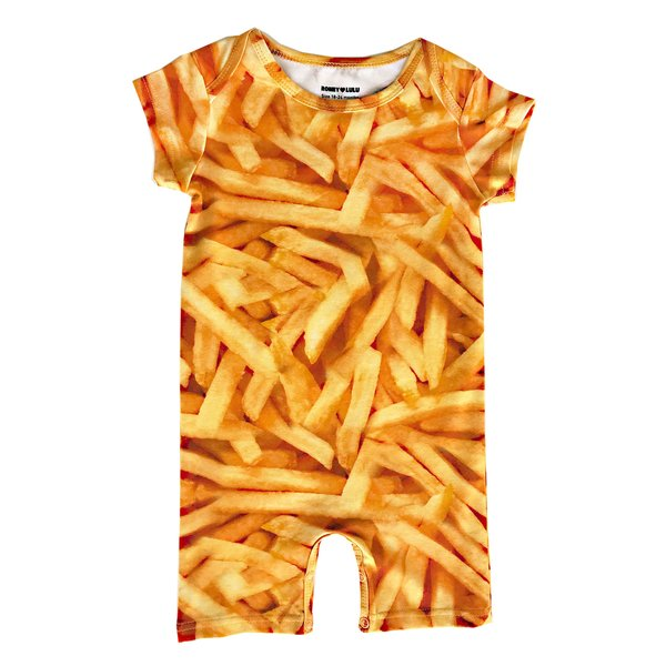 KIDS Romey Loves Lulu Short Romper - Fries