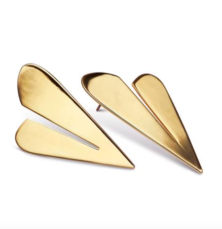Jenny Bird Two of Hearts - Gold
