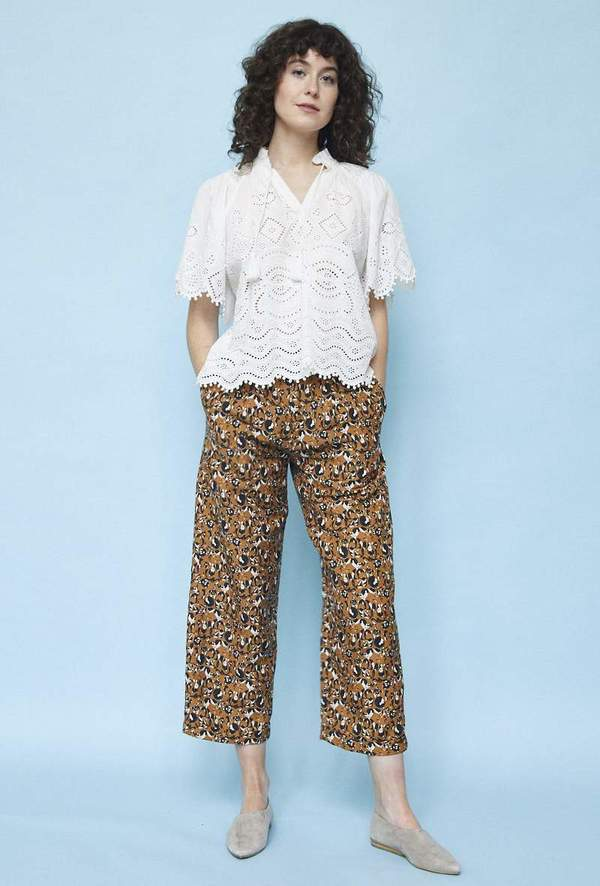 Christine Alcalay Pleated Trouser