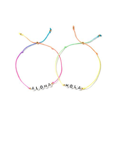 Venessa Arizaga Aloha/Hola Bracelet Set