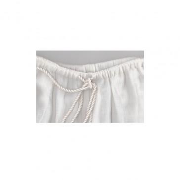 Pari Desai sahar linen pant White