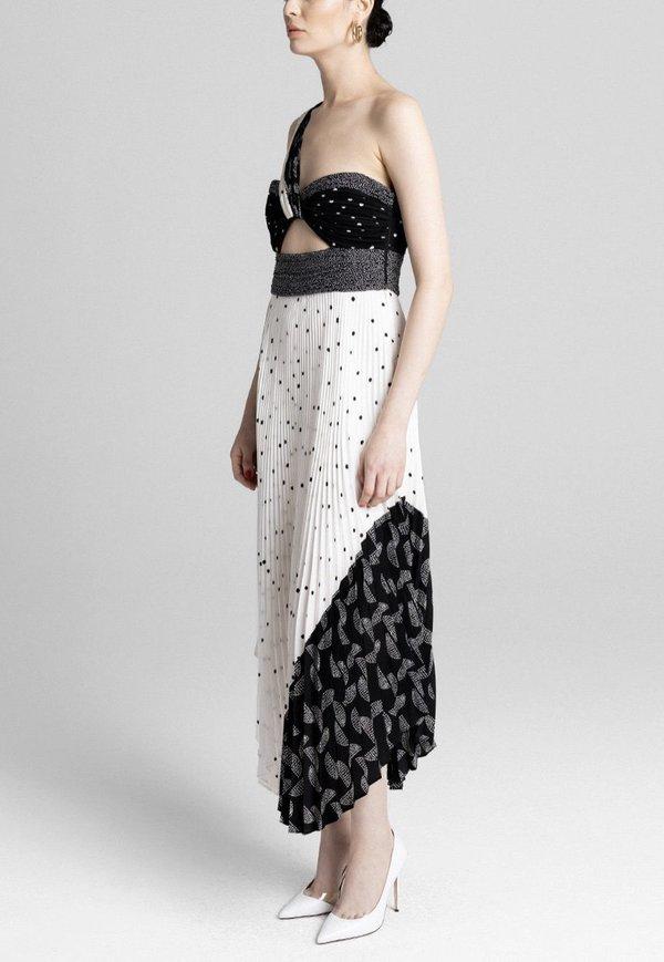 A.L.C. Aurora Dress - white/black