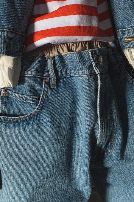 Martine Rose Track Pants - Hybrid Light Denim