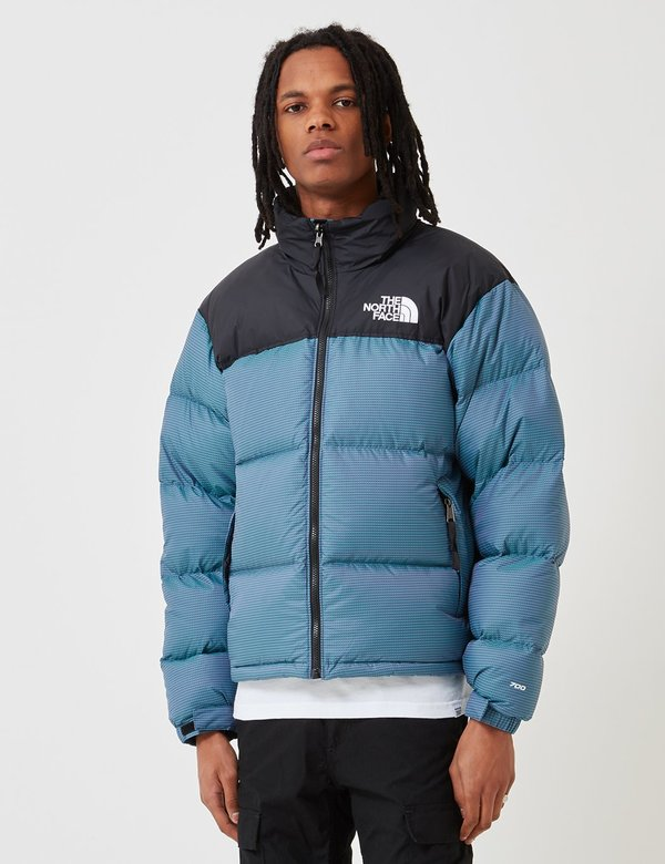 3c454e1b17 The North Face 1996 RTO Nuptse Jacket - Iridescent Multi Blue ...