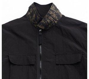 Eastlogue Reversible BDU Jacket - Tiger Camo/Black