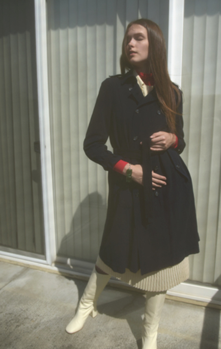 Eatable of Many Orders Mulberry Trench - Indigo