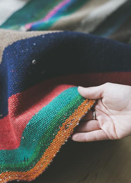 C+L Finds Vintage Peruvian Rug - No. 5