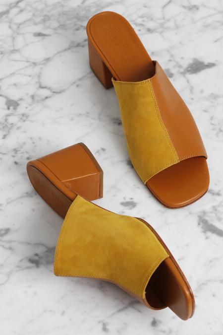 No.6 Leon Slide - Butterscotch/Yellow