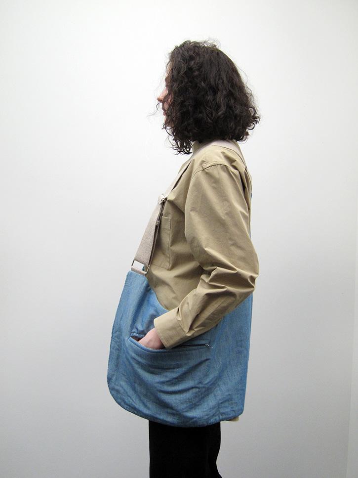 Bless Demimoore Bag Jeansmelange Garmentory