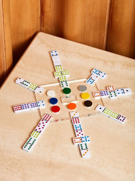 Luxe Dominoes Mexican Train Game