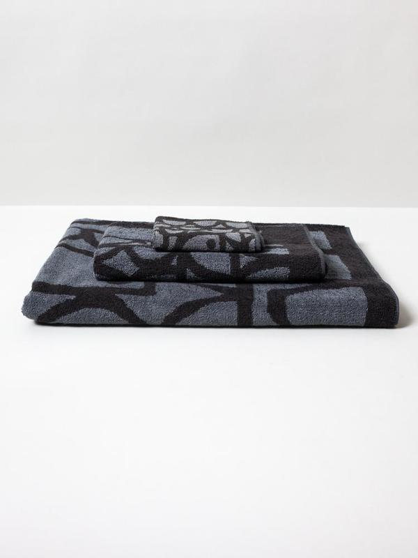 KIDS Morihata Lion Animal Towels - BLACK