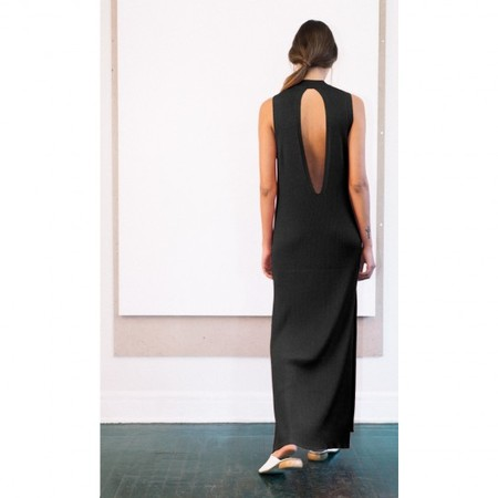 Pari Desai Talin Column Dress - Black
