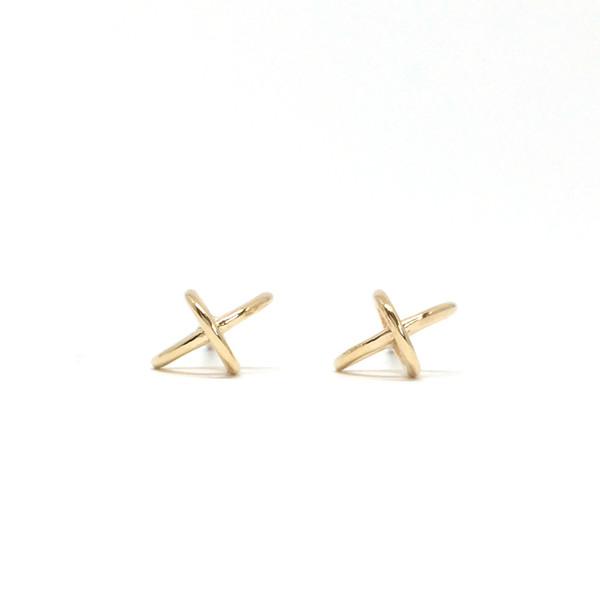 Metalepsis Projects Float Earrings - 14kt Gold