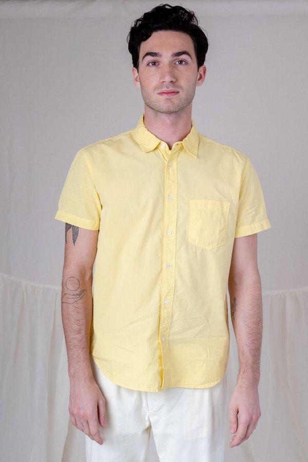 Sunshine Blues Short Sleeve Shirt - Dusty Citron