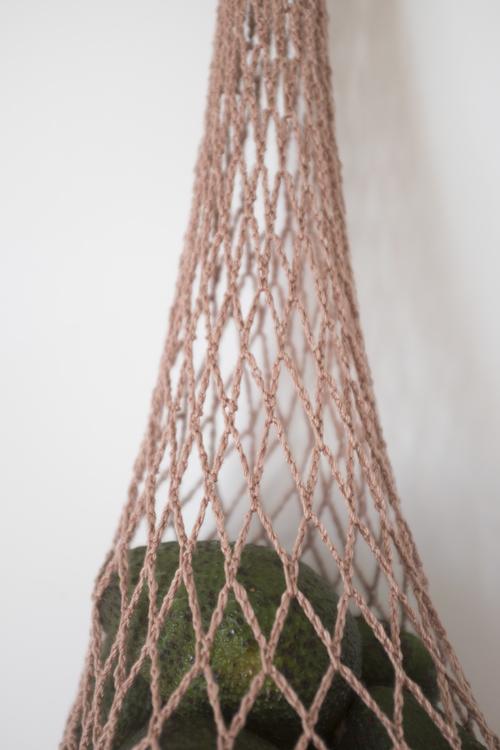 Sunja Link Hand Crochet Net Bag Garmentory